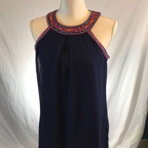 IZ Byer Size Small sleeveless dress